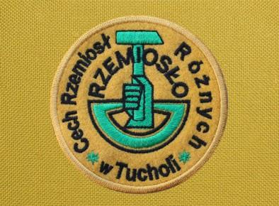 Cech Rzemiosł Różnych logotyp haftowany