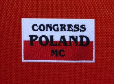 Congres Poland naszywka haftowana