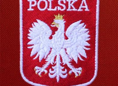 haftowane Godło Polski