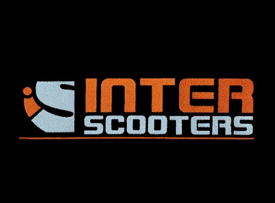 Haft reklamowy logo Inter Scooters