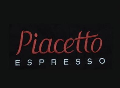 Haft reklamowy z logo firmy Piacetto