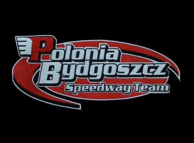 Polonia Bydgoszcz - logo przedstawione przy użyciu haftu komputerowego