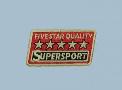 Haft reklamowy logo Supersport
