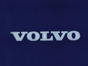 Realizacja haftowanego logo firmy Volvo