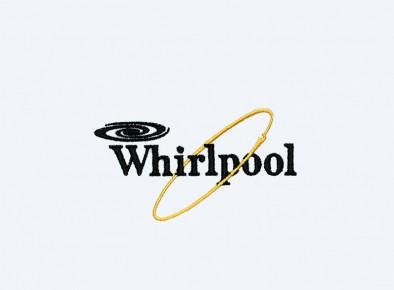 Realizacja haftowanego logotypu firmy Whirlpool
