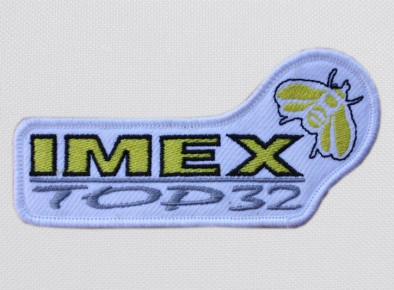 Imex Top naszywka haftowana
