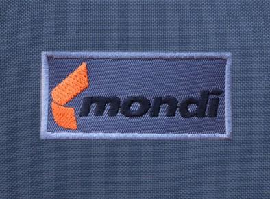 Mondi haftowany logotyp