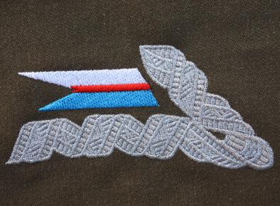Oficerska patka kołnierzowa do munduru wz. 36. 18 Pułku Ułanów okresu II RP