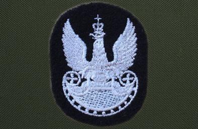 Orzełek z okresu międzywojennego wzór 19 na beret