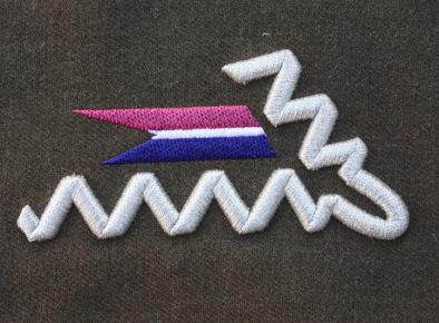 Patka kołnierzowa do munduru wz. 36. 12 Pułku Ułanów Podolskich okresu II RP