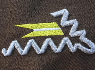 Patka kołnierzowa do munduru wz. 36. 14 Pułku Ułanów Jazłowieckich okresu II RP