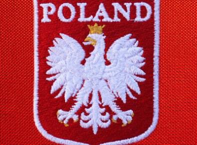Poland herb haftowany