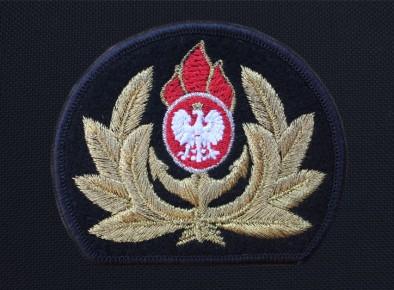 Straż Pożarna naszywka haftowana